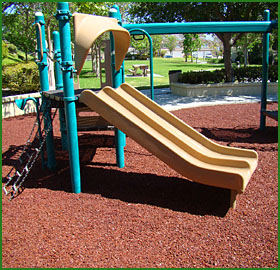 1 safest playground surface garden rubber mulch lasts - Playground surfaces for home ...